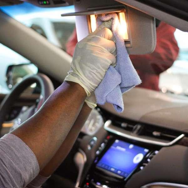 Limpieza de interior de Auto